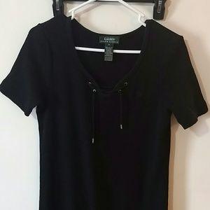 Ralph Lauren Medium Black Cotton Dress